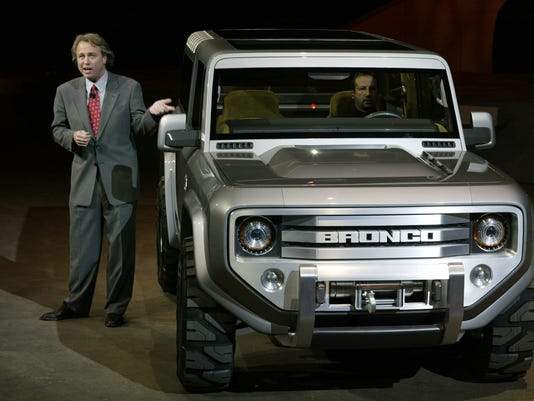 AFP US-DETROIT AUTO SHOW-FORD BRONCO USA MI