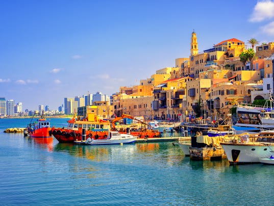 Old town and port of Jaffa, Tel Aviv city, Israel