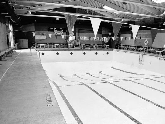 In 2009, workers did more than $4,000 in drain work and painting at the Zeugner Center Pool. Each coat of paint took about one week to dry. The work brought the center into compliance with federal pool drain regulations.