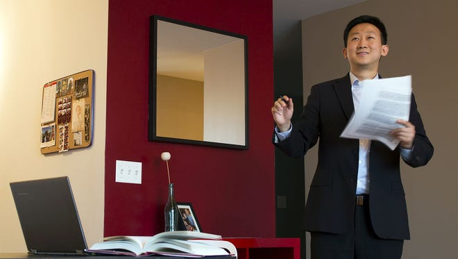 Chicago's Kelvin Jiang is preparing to train clients on investment careers and interviewing. He's the founder of Buyside Focus Inc.