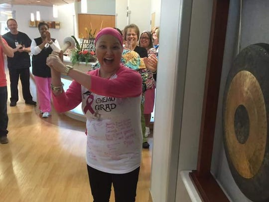 Brandy Davis was diagnosed with cancer in December.