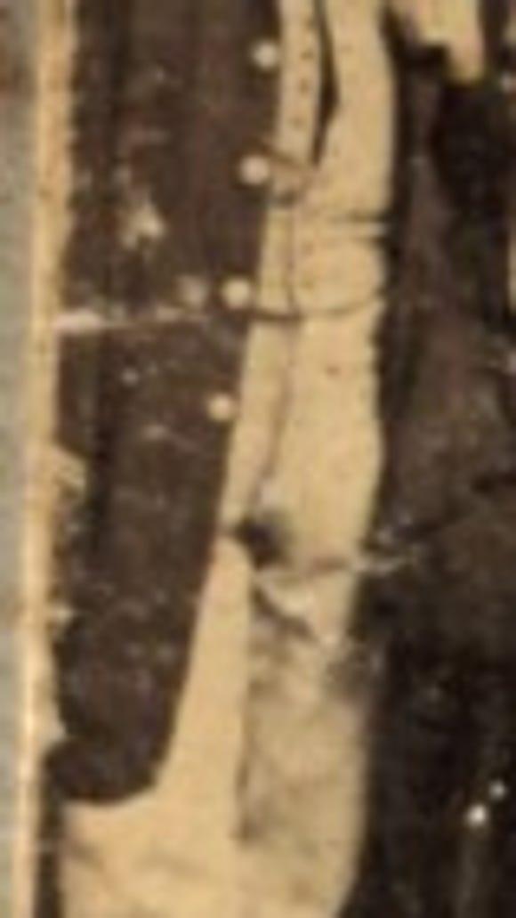 Oney F. Sweet in 1862; courtesy of Larry Edwards.