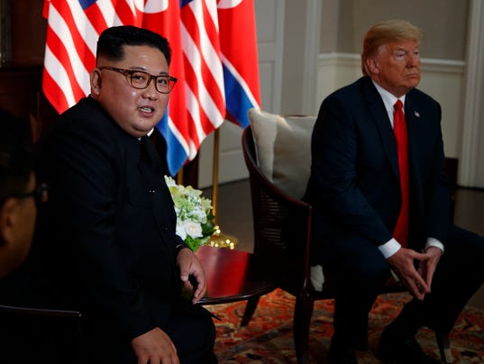 AP TRUMP KIM SUMMIT I A SGP