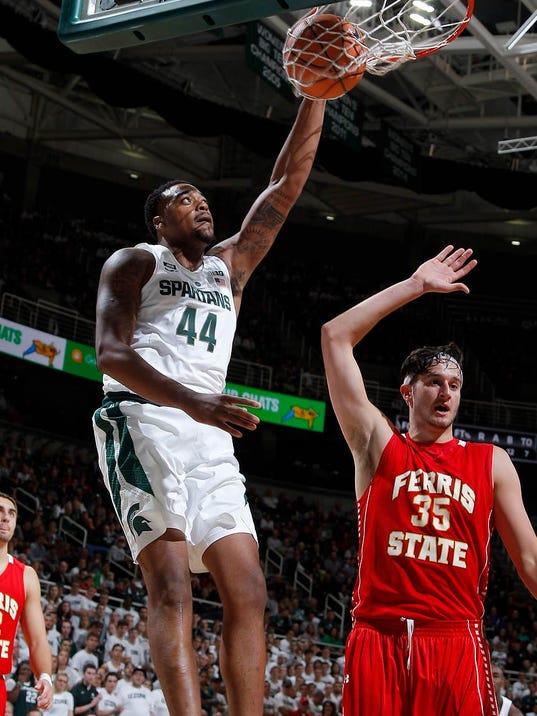 MSU vs Ferris State Basketball