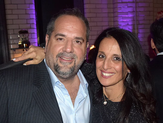 John and Vicki Leone at after party hosted by Jessie