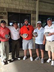 The winning team at the Sixth Annual DAV Golf Scramble
