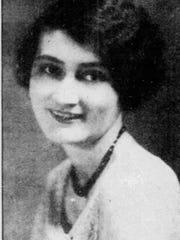 Miss Edna in 1945