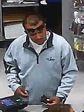 This man reportedly used a stolen credit card to pay for more than $200 in purchases at the Academy Sports and Outdoors store at 201 S. Americas Ave., on Nov. 27, according to El Paso Crime Stoppers.