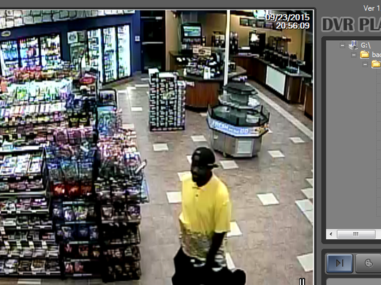 Simpsonville police released photos of two suspects they said stole more than $4,000 in Newport cigarettes.