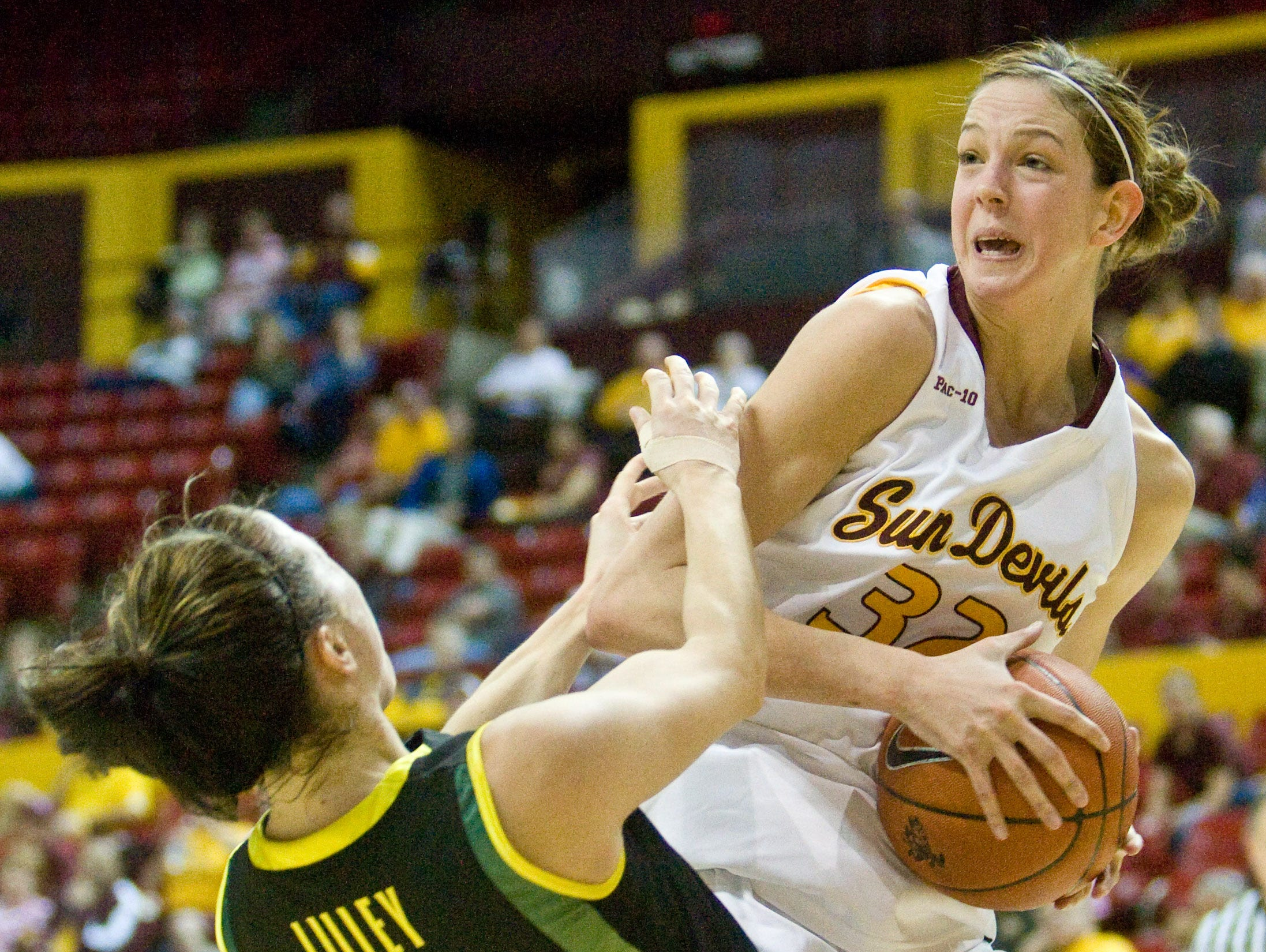 Becca Tobin went on to play at Arizona State University after winning championships at Glendale Cactus High School.