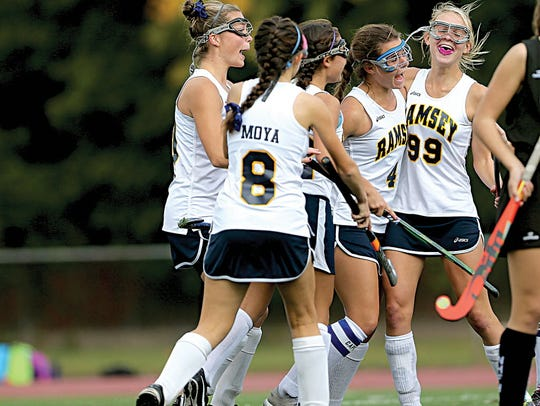 Ramsey was the North Jersey Field Hockey team of the Year in 2016.
