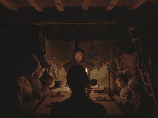 A Puritan family in 1630s New England is thrown into