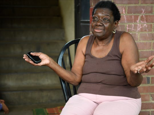 James A. Cayce Homes resident Shirley Payne, 68