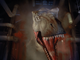 A T-Rex enters in the climactic scene in Jurassic Park