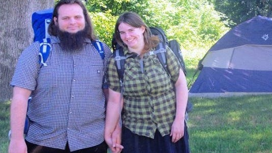 A handout photo provided by the Coleman family shows Caitlan Coleman and Joshua Boyle.