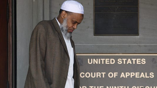 A 2012 photo shows Portland Imam Mohamed Sheikh Abdirahman Kariye, who is one of 15 men who say their rights were violated because they are on the U.S. government's no-fly list.