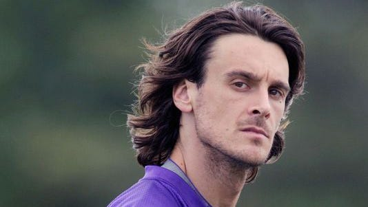 Chris Kluwe is shown with the Vikings in this file photo.
