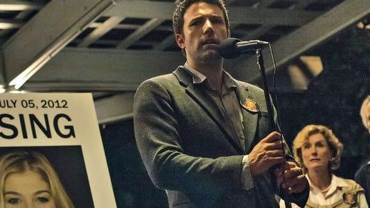 """Ben Affleck stars as Nick in """"Gone Girl,"""" based on Gillian Flynn's novel."""