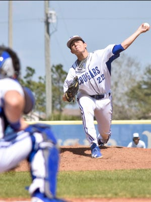 Nick Denove is turning in an outstanding junior season on the mound for the Barron Collier baseball team. Denove is 4-3 with a 1.61 earned average, tossing a no-hitter with 11 strikeouts against Lely on April 11.
