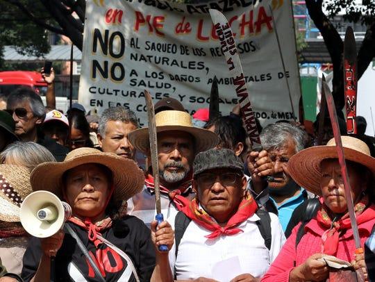 Los ejidatarios del oriente del Estado de México, principalmente