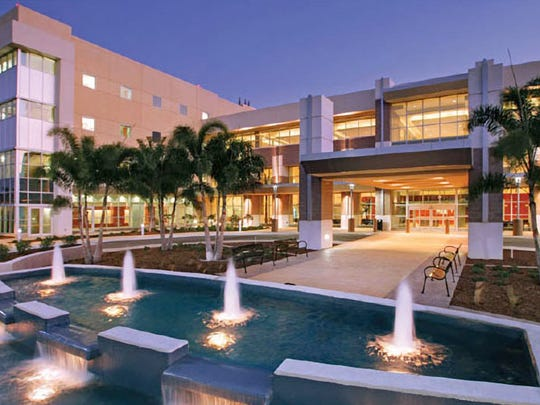 Gulf Coast Medical Center. Courtesy of Lee Memorial Health System