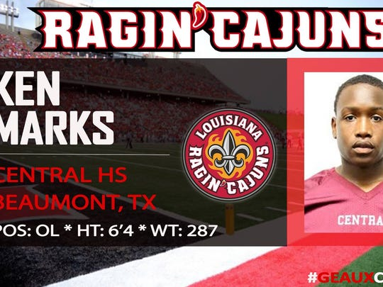 Ken Marks: Central HS (Beaumont, Tx.)