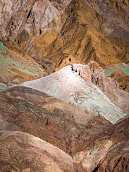 Artists Palette at Death Valley National Park.