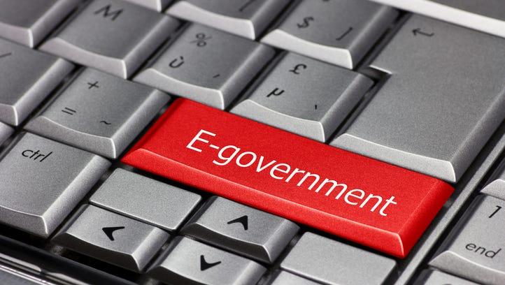 Computer key of  E-government