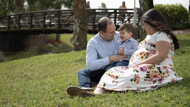 Andrew and Christine Ruiz and their son, 2-year-old Aiden, are set to welcome a new baby boy into their family. But their plans to have Aiden at the hospital when their second son arrives were scuttled by the novel coronavirus, and rules put into place by the hospital to help prevent the spread of the disease.