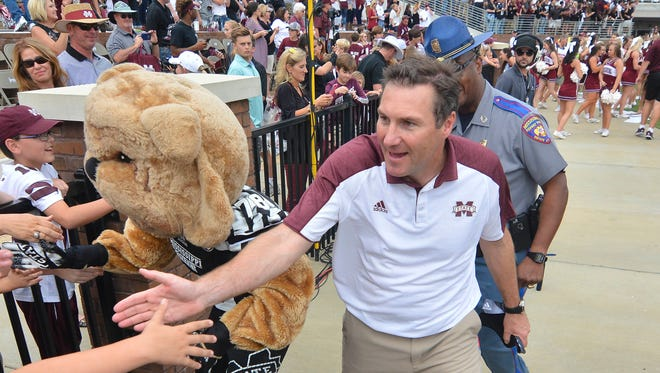 Mississippi State coach Dan Mullen said he will be back in Starkville next year.