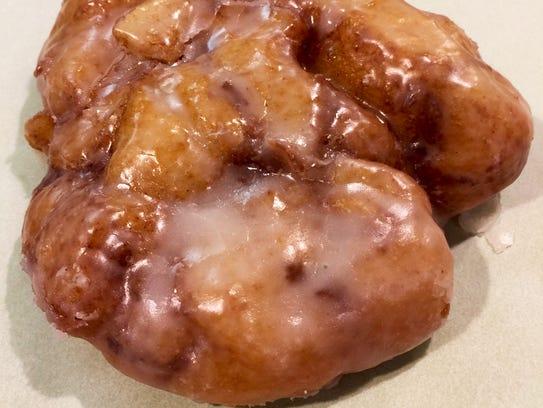 The apple fritter from Bennett's.