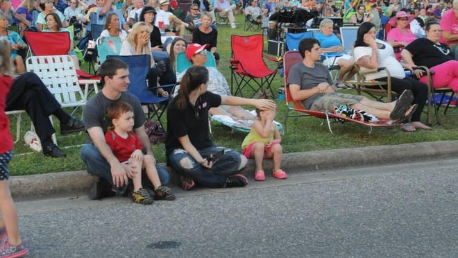 A crowd at Bands on the Blackwater in Milton is pictured in this file photo.