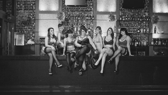 Join burlesque performer and costume designer, Miss Mia Moore, in the Cité des Arts studio1-3 p.m. Saturday for an afternoon of steamy dance choreography