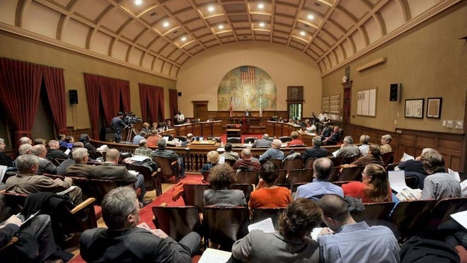 The Peoria City Council chambers.