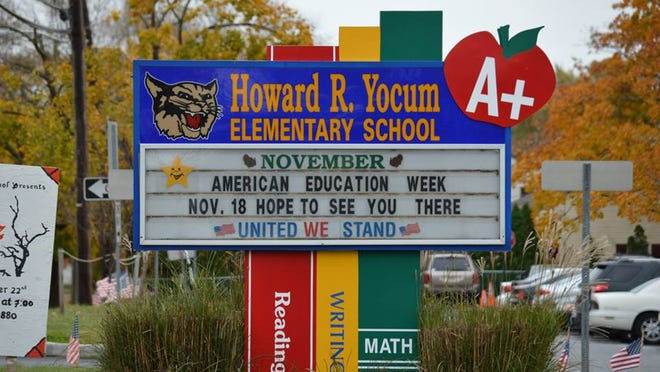 An Ebola scare that kept two children from attending Howard Yocum School in Maple Shade this week was a 'little hiccup,' the school board president said at a board meeting Wednesday.