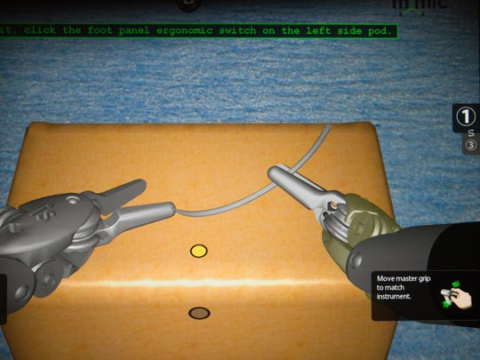 A simulation plays in the viewer of the controls for
