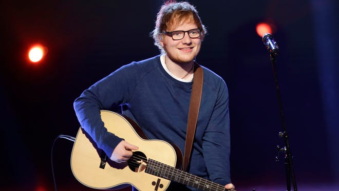 Ed Sheeran has the No. 1 album is the USA with 'Divide,' which was released earlier this month.