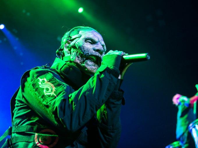 Slipknot performs as Of Mice & Men, Marilyn Mason and
