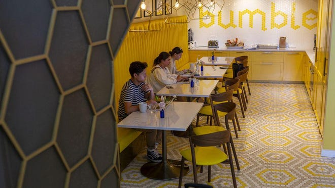 Austin-based Bumble has more than 100 million registered users, according to the company.