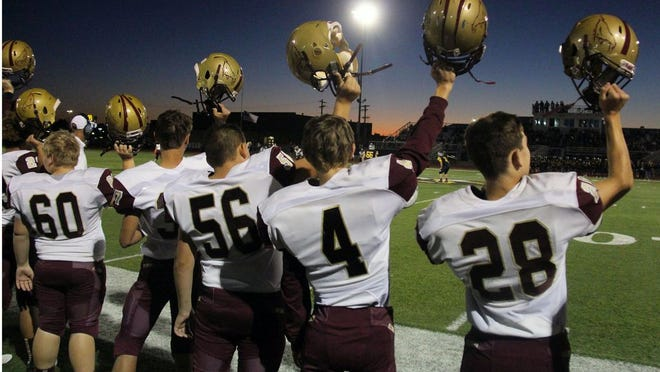 Eldon's junior varsity football game with Osage Monday night and a varsity game with Hallsville on Friday have been cancelled due to coronavirus concerns. As of this time, no other cancellations have been made.