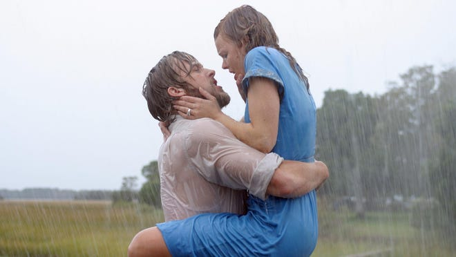 "Nobody rents more romantic movies from Redbox kiosks than Green Bay, according to a survey from self-service DVD rental company, which proclaimed it the ""most romantic city"" in the nation. ""The Notebook,"" starring Ryan Gosling and Rachel McAdams, came in as the top romantic movie of all time in the survey."