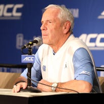 North Carolina basketball coach Roy Williams addressed the athletic department's academic scandal this week during ACC media day.