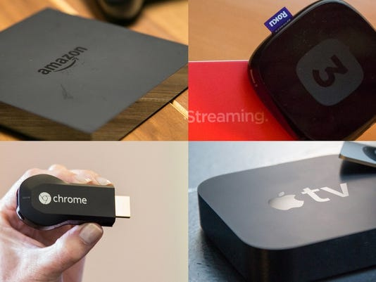 Stream war: Amazon Fire TV vs  Apple TV vs  Roku vs  Chromecast
