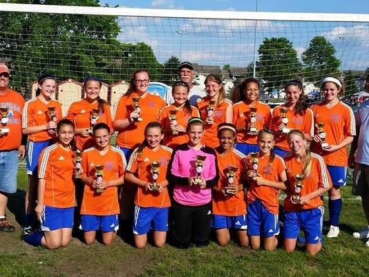 Millville Union - Voorhees Memorial Day Tournament 2015