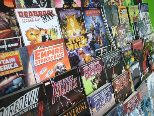 Mass Market Comics in Zanesville features comic books from a large variety of series, including back issues for some that date back decades.