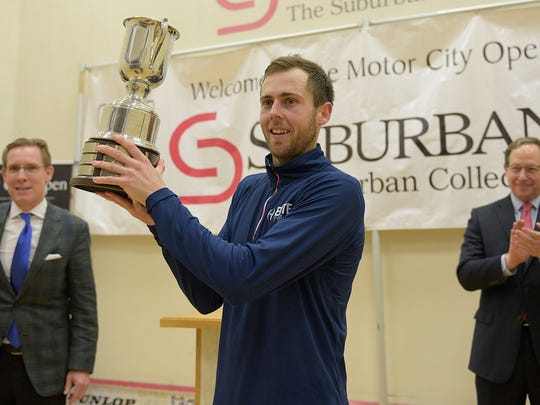 After nine straight appearances, Ryan Cuskelly captured the MCO championship for his biggest victory on the pro squash tour.