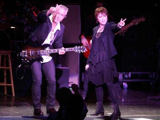 Pat Benatar and Neil Giraldo headline Red, White and Blue Ash at Summit Park on July 4th.
