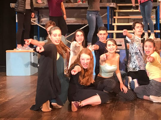 "Hastings High School presents ""Urinetown: The Musical,"" with performances at 7 p.m., April 21 and 22, and at 1 p.m., April 23; $10; $5 students; seniors free. Tickets at the door."