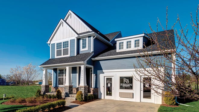 Charleston in Lyon Township by Robertson Homes is a Blue Ribbon winner for homes base priced over $260,000 and under $300,000.