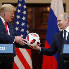 Why is Trump kowtowing to Putin?